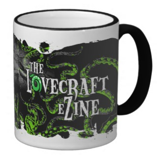 Click the image to purchase this Lovecraft eZine coffee cup, and other eZine items!