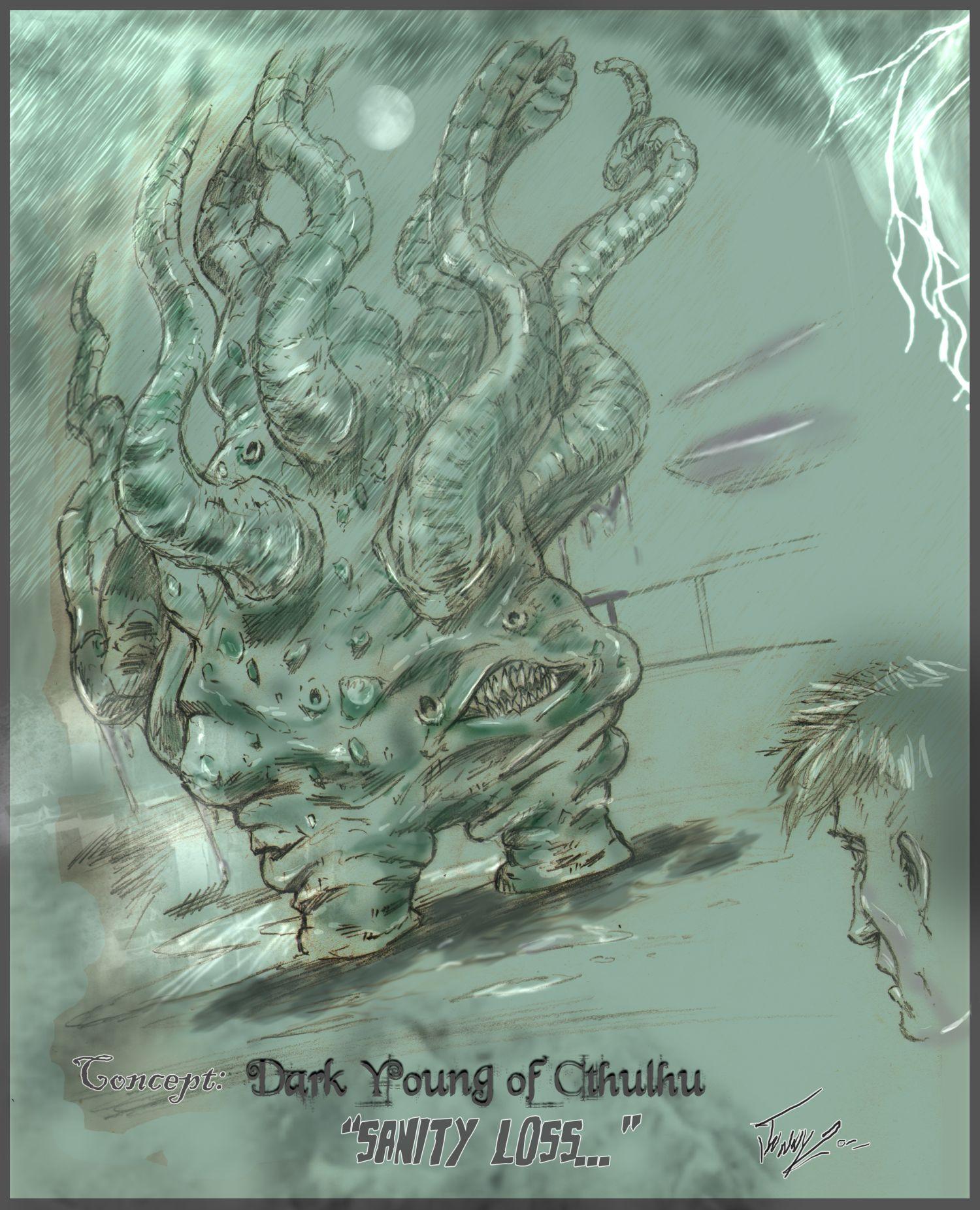 Art: Lovecraftian Art – Issue #13 – April 2012