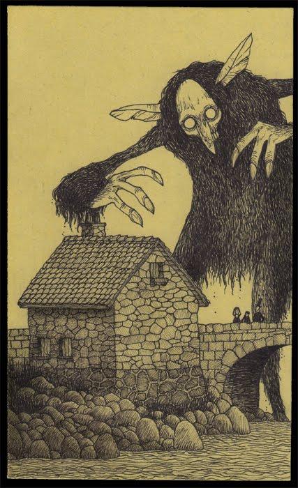 What If Edward Gorey Illustrated Lovecraft Lovecraft Ezine