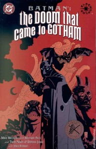 The Doom That Came to Gotham, book 3