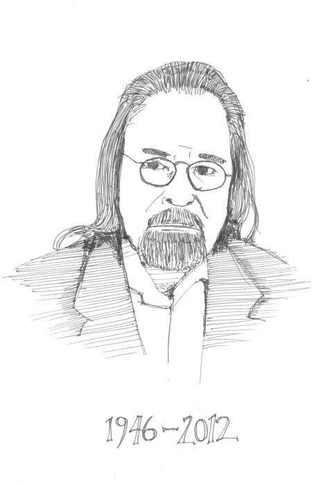 Adam Niswander - drawn by Warren Layberry