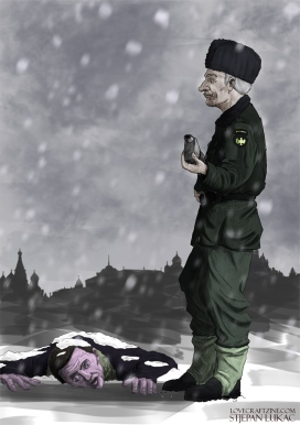 "Click to enlarge.  ""The Dead of Winter"" -- illustration by Stjepan Lukac: http://stjepanlukac.wordpress.com/"