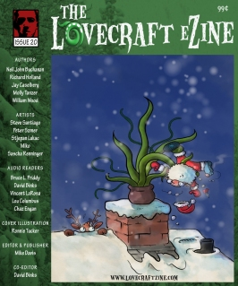 Issue 20 cover by Ronnie Tucker.  Click to enlarge.