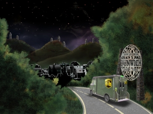 Dunwich Redux - illustration by Dominic Black - click to enlarge - http://webtentacle.blogspot.com
