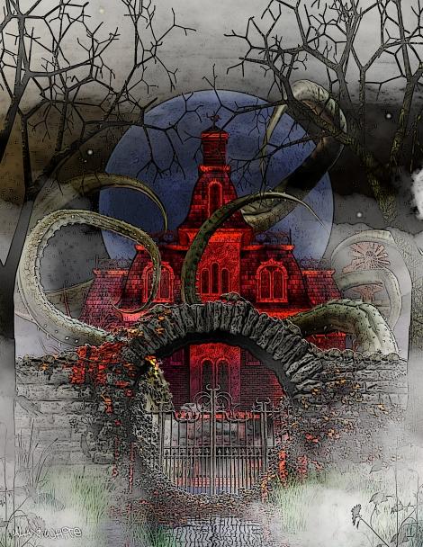 MOON OVER INNSMOUTH, by Alan White