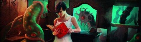 Reading Lovecraft, by ~FisHgRiNd: http://fishgrind.deviantart.com/