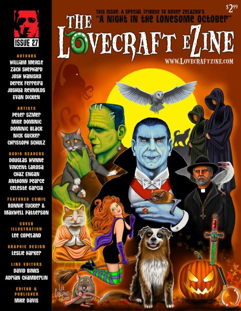 Issue cover by Lee Copeland - http://www.leecopeland.com - click to enlarge