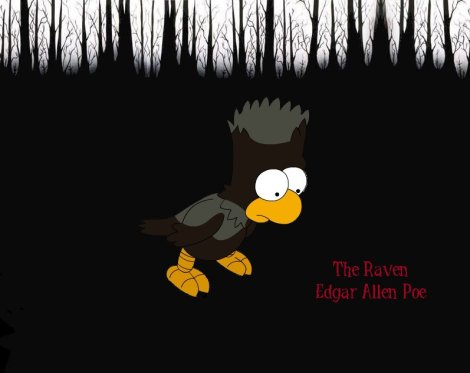 Simpsons The Raven