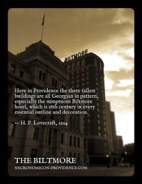 The Biltmore Hotel -- site of the 2013 NecronomiCON
