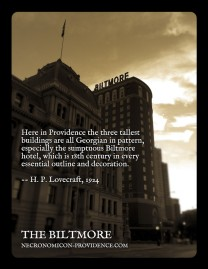 The Biltmore Hotel -- site of the 2013 NecronomiCON