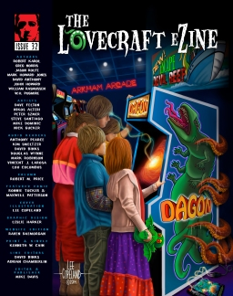 Cover for issue #32, by Lee Copeland