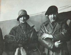 Seabrook and future wife Marjorie Muir Worthington