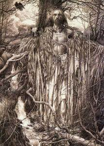 """""""The Book of Merlin"""" by Alan Lee: http://bit.ly/1IdhQI1"""
