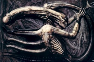 """Xenomorph Genesis"", by H.R. Giger"