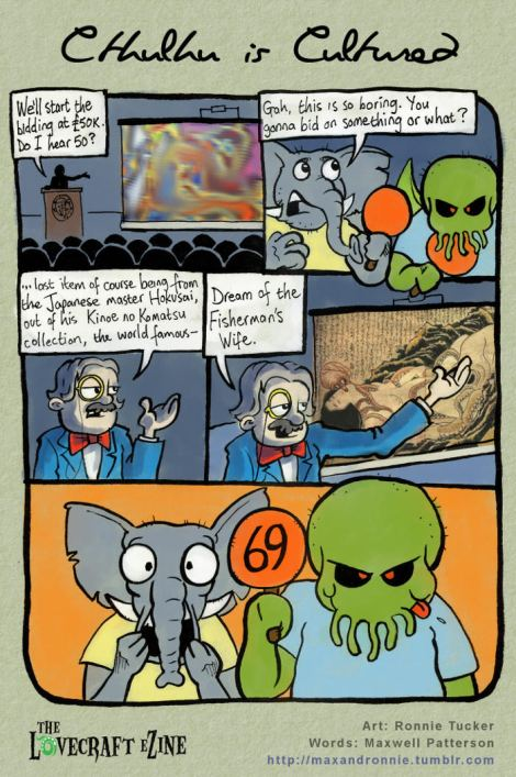 cthulhu comic for issue 35