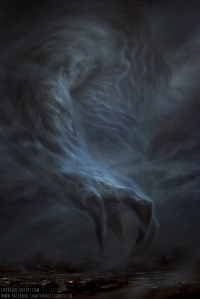 """""""Cthulhu The Great"""", by Richard Luong"""