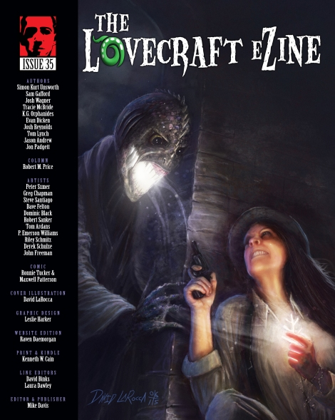 """Lovecraft eZine"" issue 35 cover"