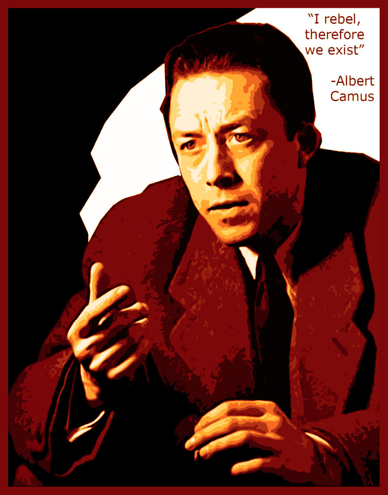 albert camus a writer and a philospher Privately, sartre characterized camus as a kind of schoolteacher, worthless in philosophy whew  i sum it up this way: camus was a poet who wished he could be an influential thinker sartre a deep thinker who wished he could attain the eloquence of a poet.