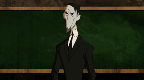 Professor H.P. Hatecraft, voiced by Jeffrey Combs