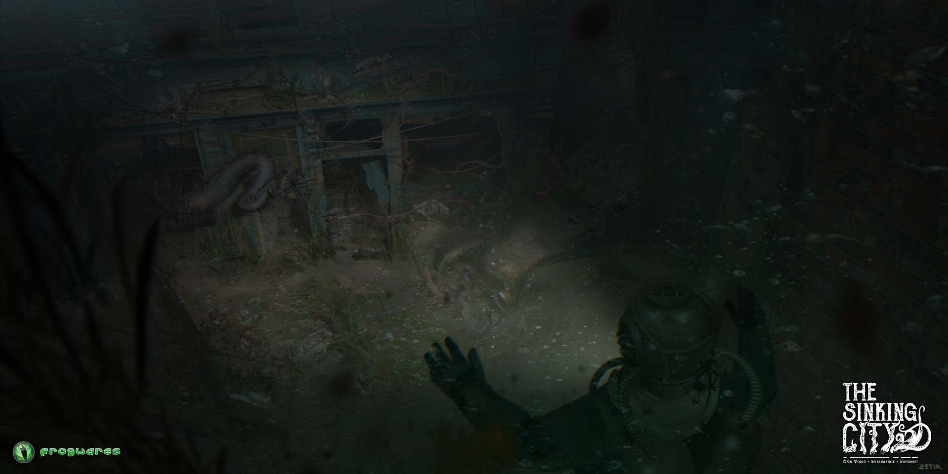 Three new pieces of concept art from the upcoming Lovecraft