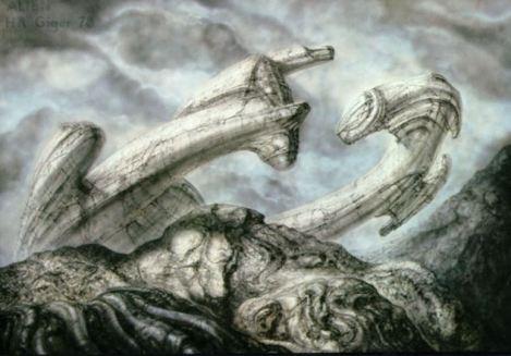 9_Alien Derelict by HR-Giger